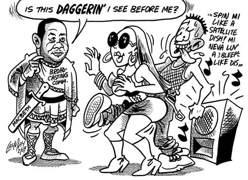 At Daggers Drawn: The Broadcasting Commission and Jamaican Popular Culture (updated)