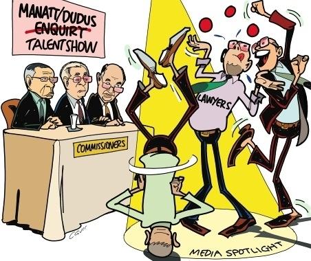 The KD Knight Show (aka the Manatt Commission of Inquiry) (2/3)