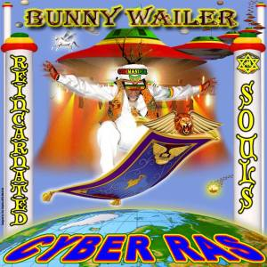 Bunny Wailer as Cyber Ras flying through space