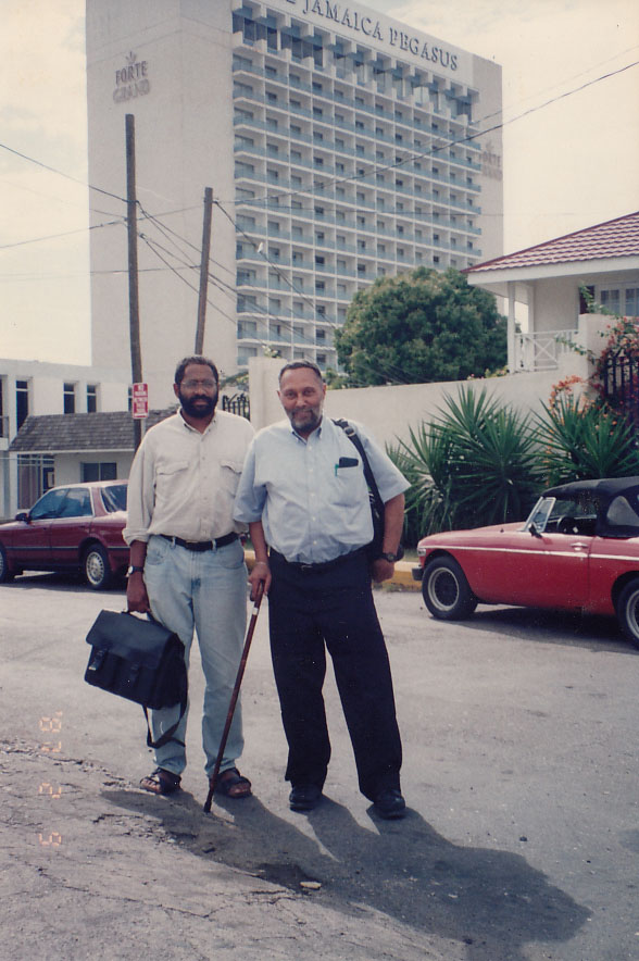 David Scott and Stuart Hall, 1996