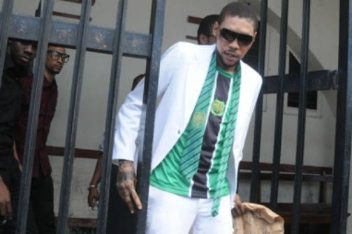 VybzKartel Still Represents Calabar As Seen In This Photo Taken Today After His