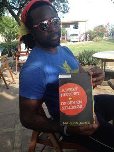 Marlon James at Calabash Literary Festival, June 2014